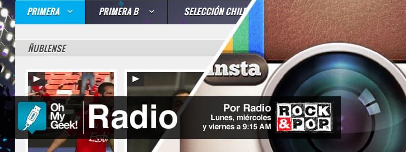 OhMyGeek Radio - Estadio CDF e Instagram