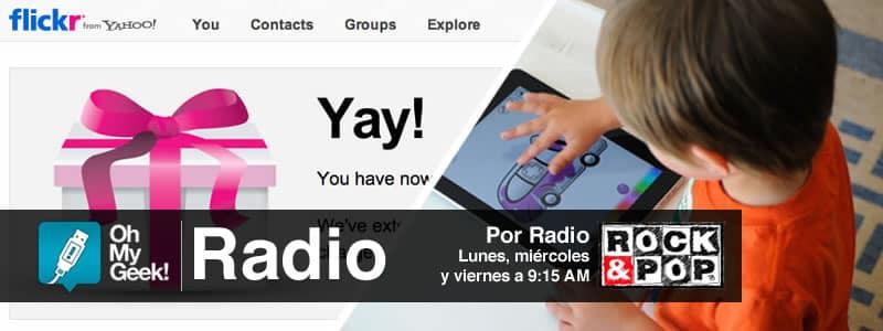 OhMyGeek Radio - Flickr PRO y Chico con iPad