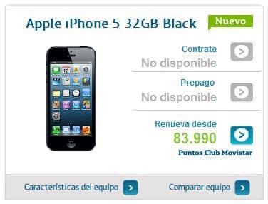 Oferta Iphone X Movistar