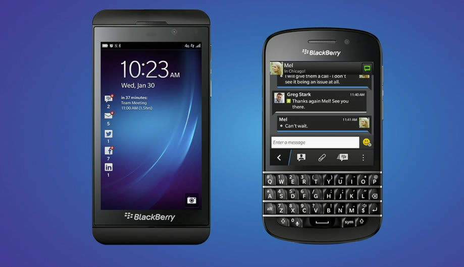 BlackBerry Q10 - Z10