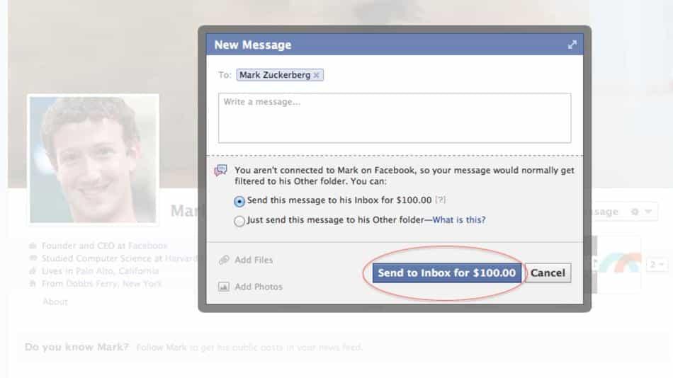 Facebook Mashable