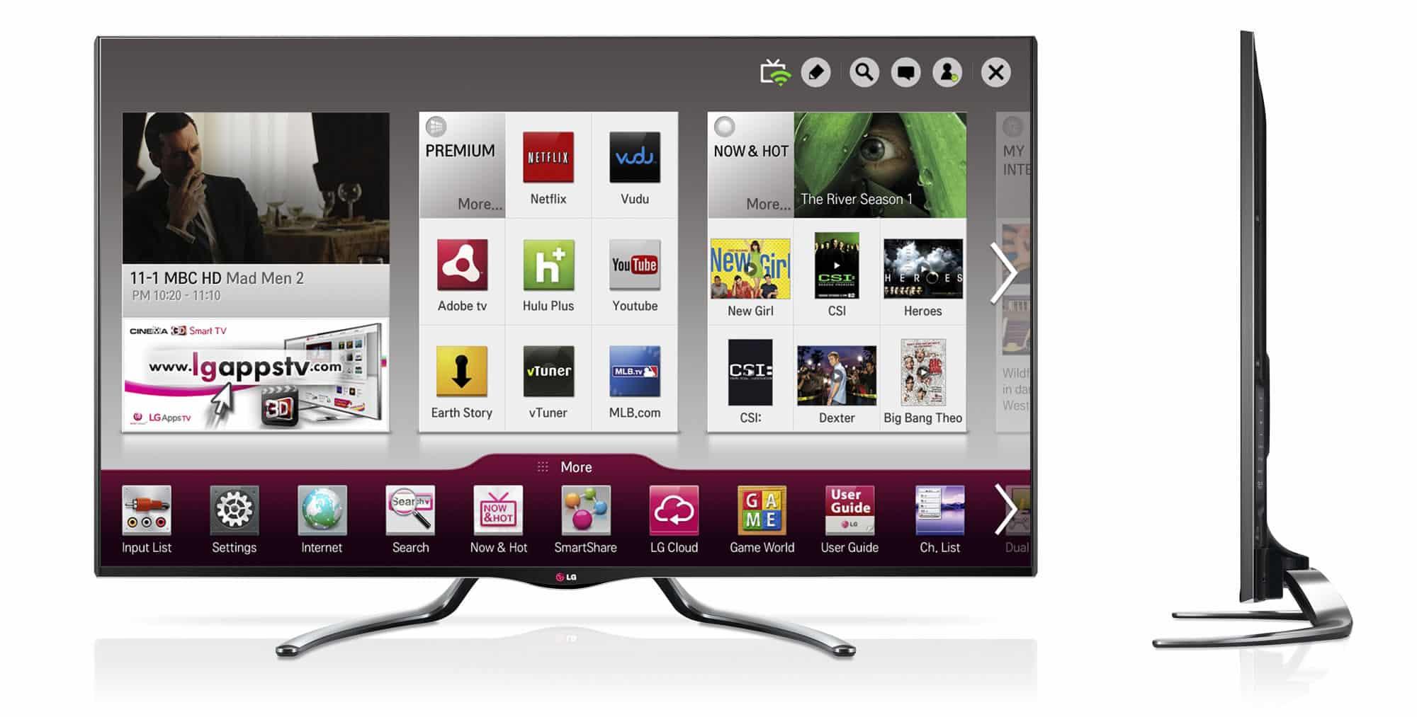 LG Google TV GA7900 02