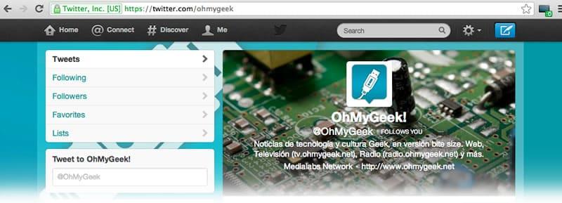 Twitter OhMyGeek