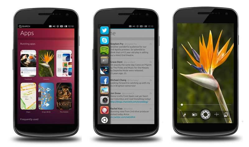 Ubuntu para telefonos