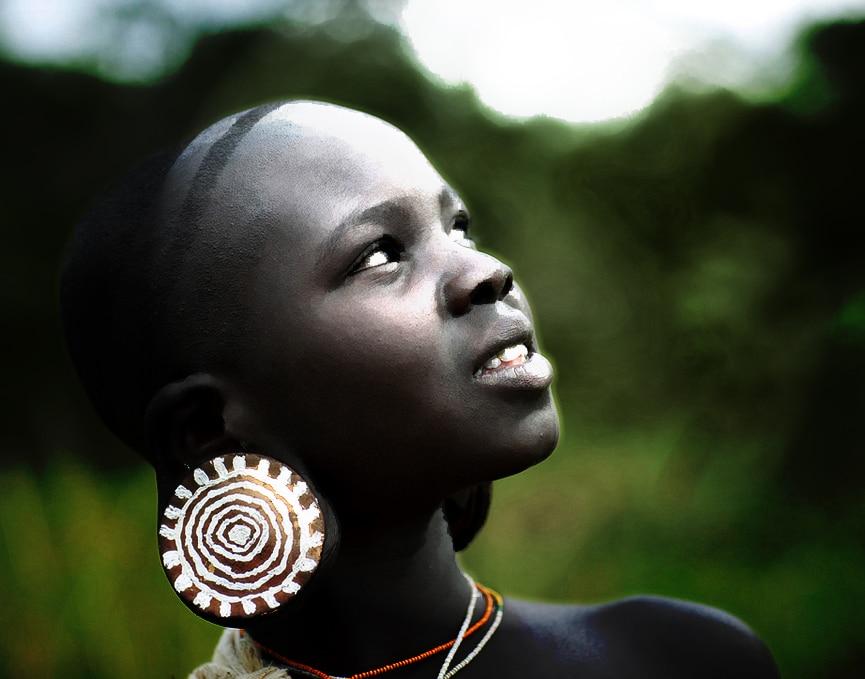 SURMA SURI TRIBE - OMO ETHIOPIA