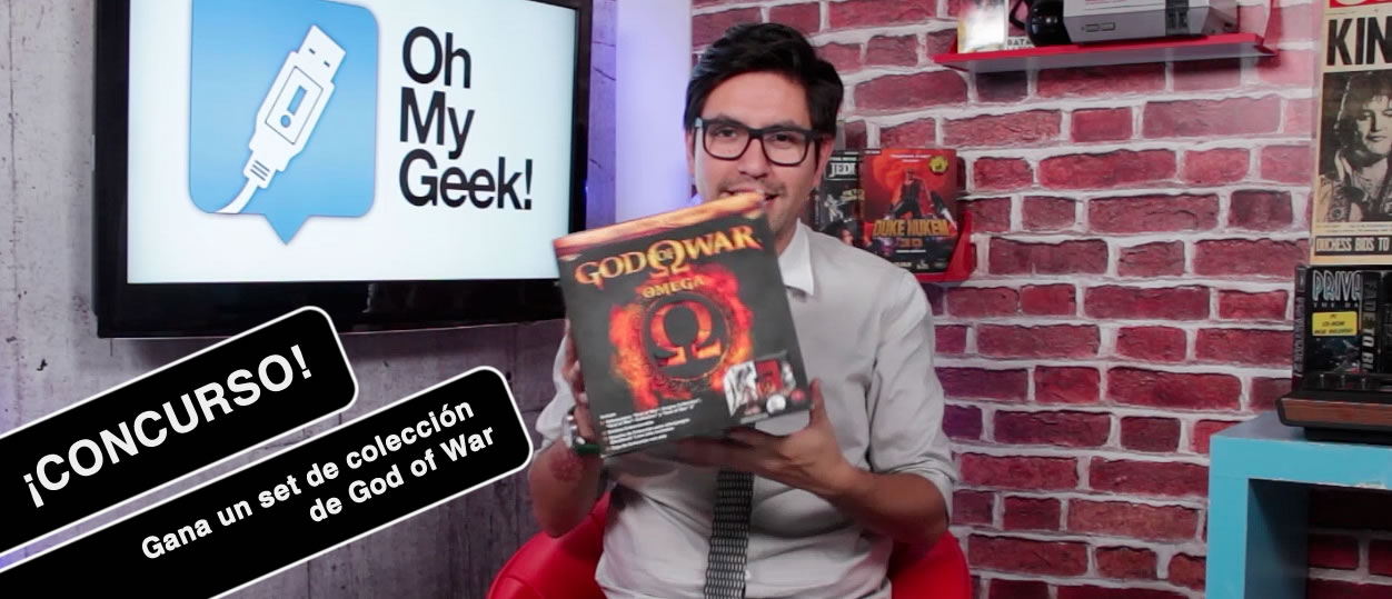Concurso God of War - OMGTV