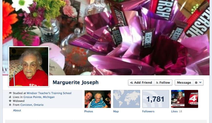 Marguerite Joseph (Facebook)