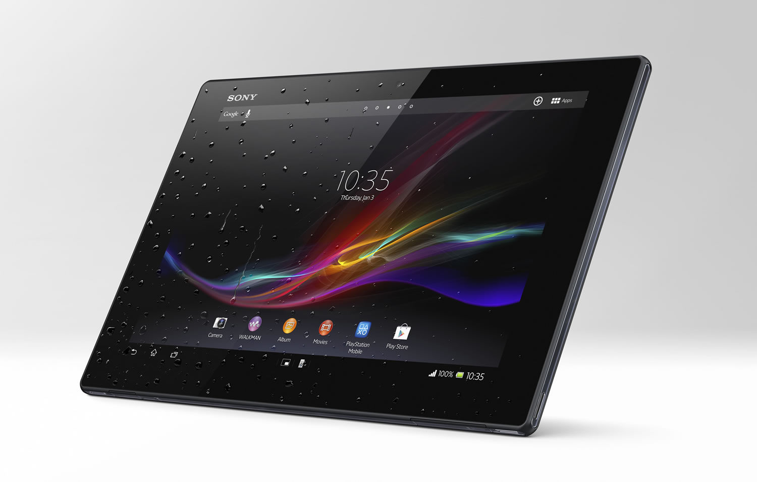 Xperia Tablet Z (Front)