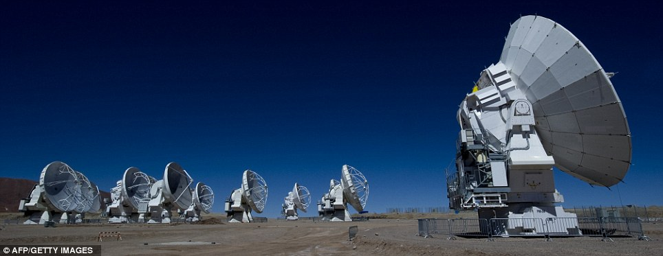 Streaming: inauguración en vivo del proyecto astronómico ALMA.