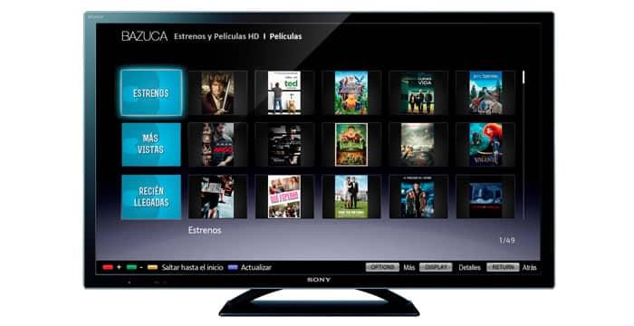 Bazuca en TV Sony
