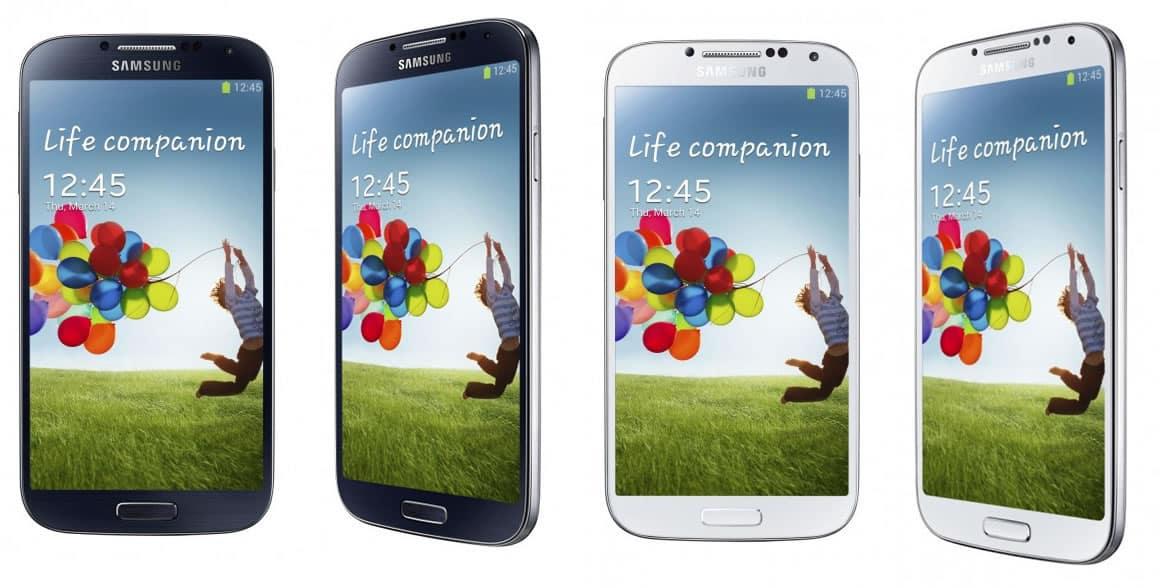 Galaxy S4 (Blanco y negro)