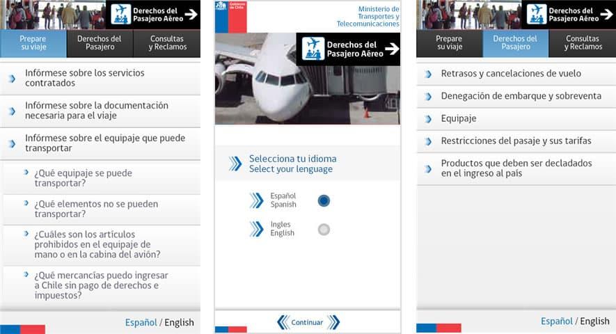 Pasajero Aereo (App)