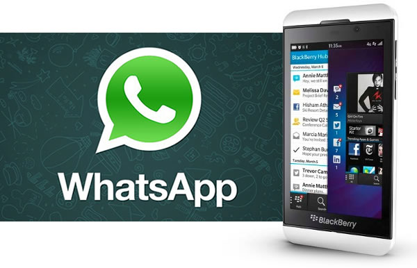 WhatsApp en BlackBerry 10