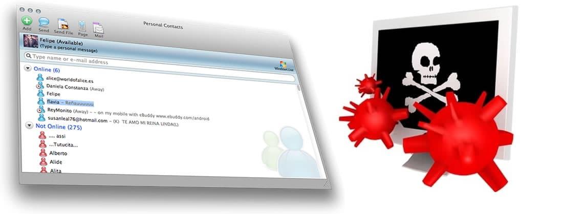 MSN Virus