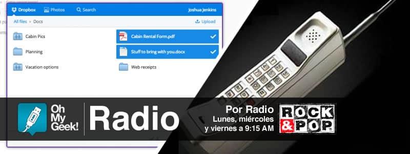 OhMyGeek Radio - Dropbox - Motorola