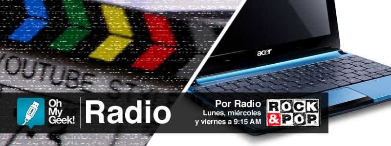 OhMyGeek Radio - YouTube VHS y Netbook