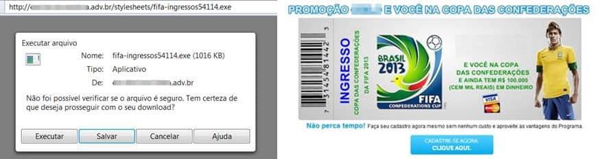 Phishing - Mundial de Futbol 2014 (02)