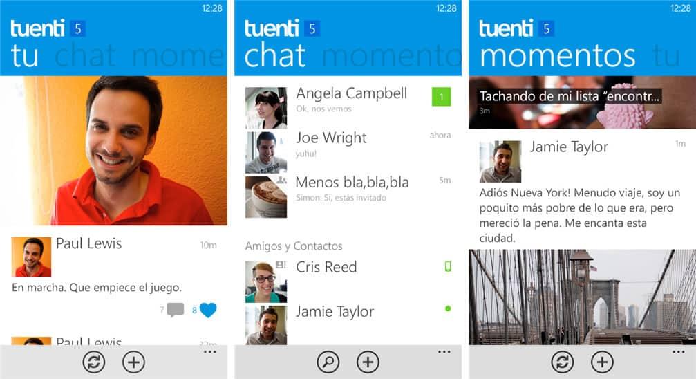 Tuenti para Windows Phone