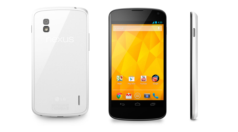 Nexus 4 - Blanco