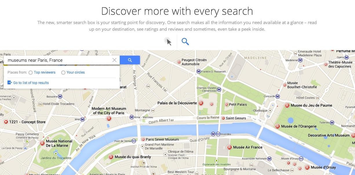 Nuevo Google Maps