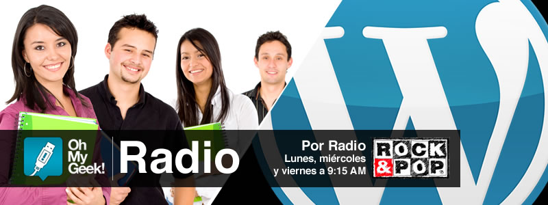 OhMyGeek Radio - Estudiantes y WordPress