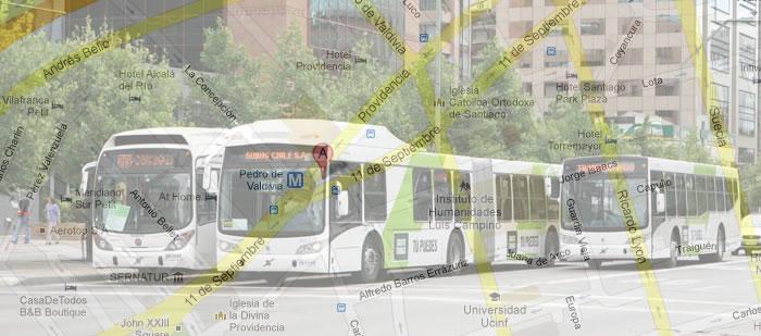 Transantiago - Google Maps