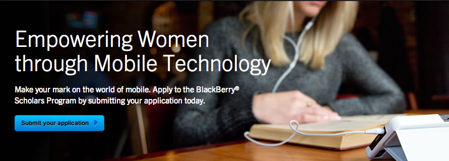BlackBerry Scholars Program