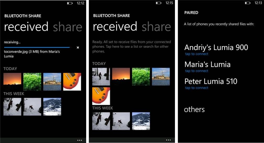 Bluetooth Share 02 (Lumia)