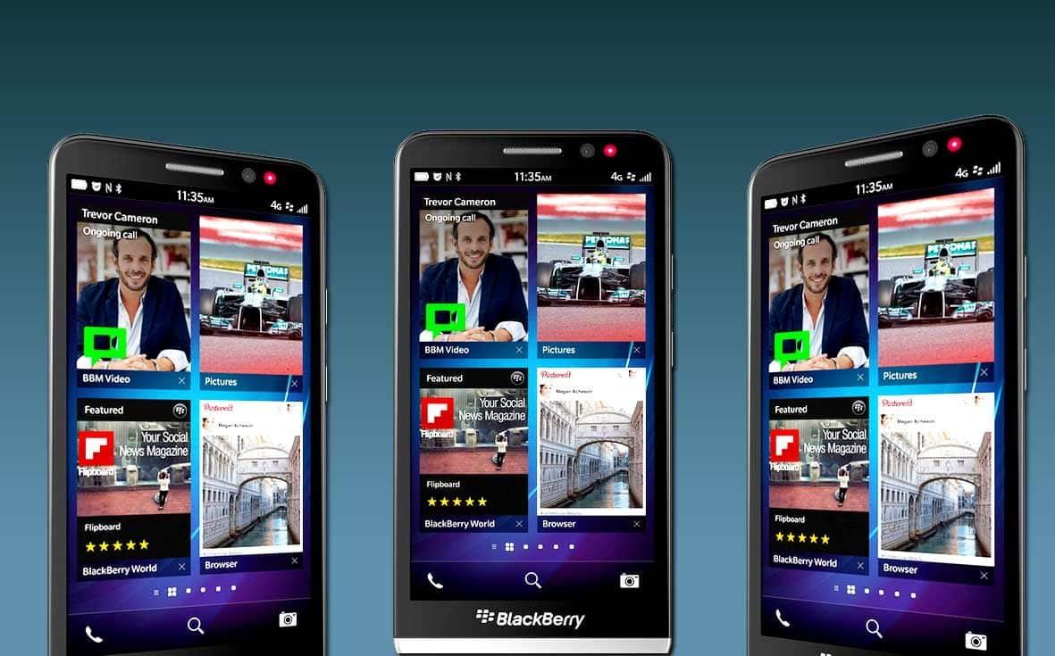 Blackberry Z30 aparece en un momento complejo de la compañía.