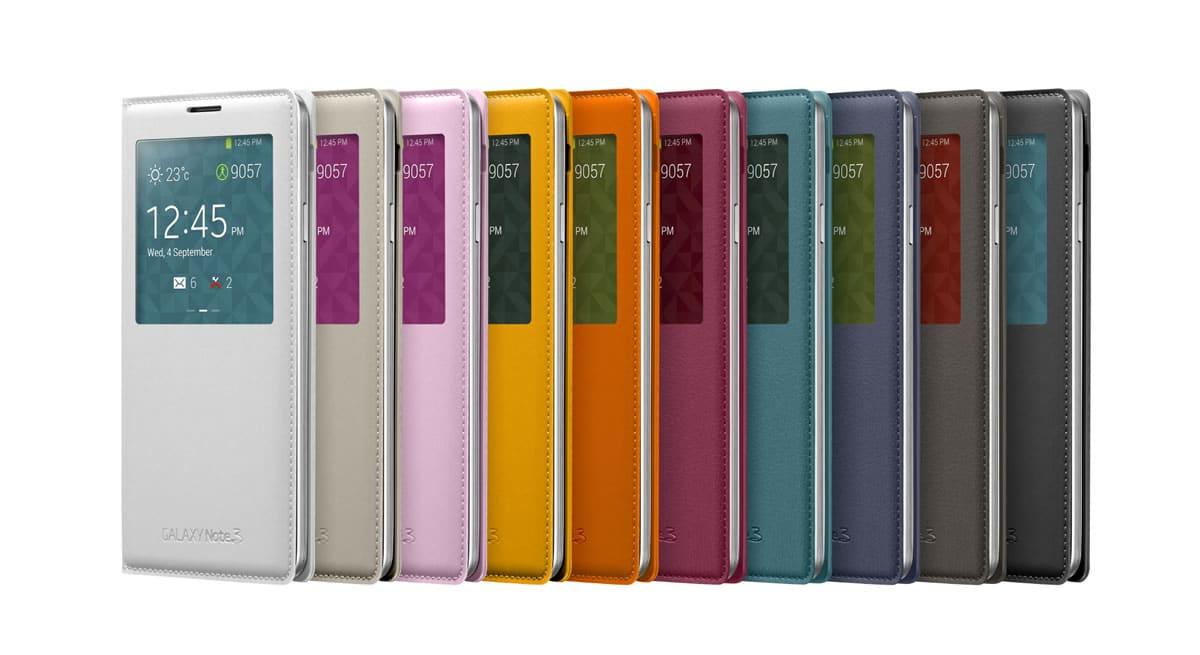 GALAXY Note 3 (estuches colores)