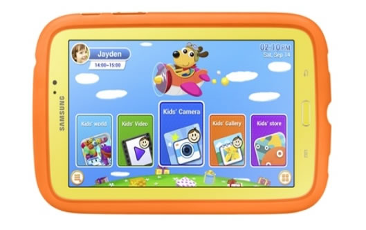 Galaxy Tab 3 Kids (Front)