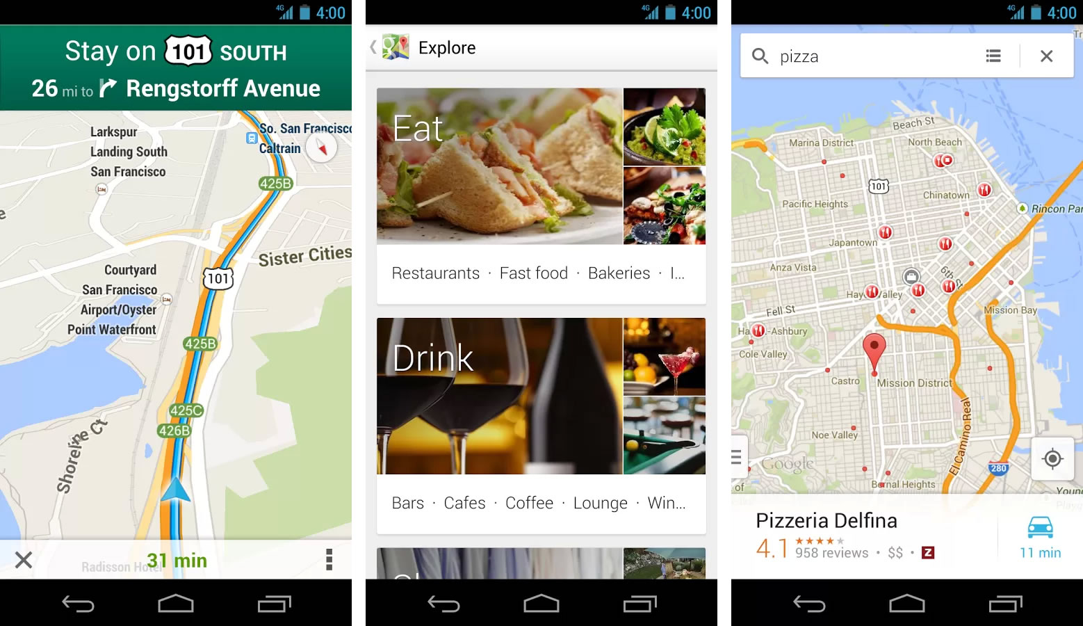 Google Maps (Android)