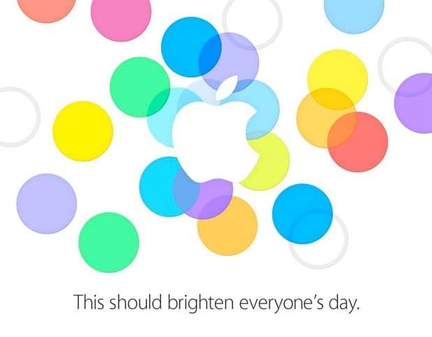Invitacion Apple iPhone 5S