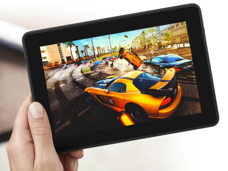 Amazon presentó su nueva tablet, la Kindle Fire HDX.
