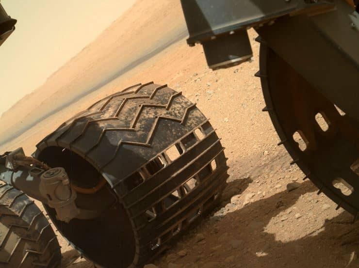 El rover Curiosity aterrizó en Marte en agosto de 2012.