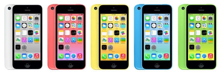 iPhone 5C (Colores)