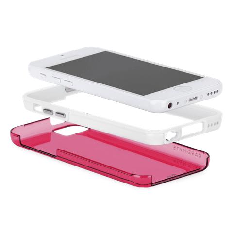 Supuesta imagen de un iPhone 5C con carcasas.