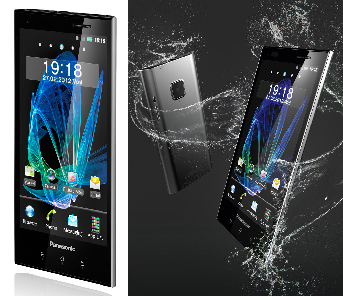 Panasonic Eluga, el smartphone de la compañía japonesa.