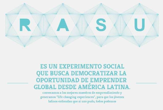 RASU convoca a maestros de emprendimiento digital.
