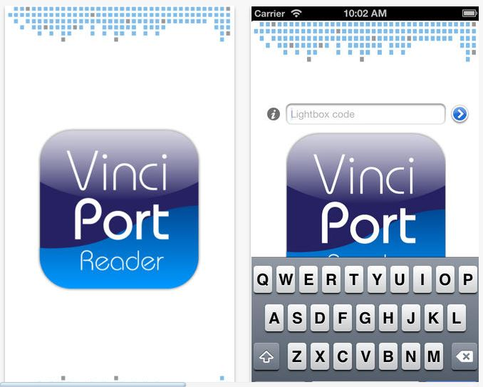 VinciPort está disponible para iPhone.