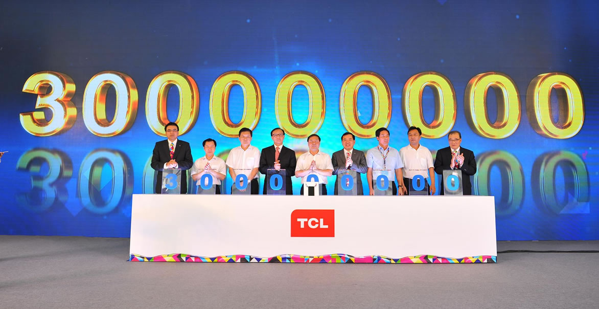 En grande fue la celebración del equipo 300 millones de Alcatel One Touch.