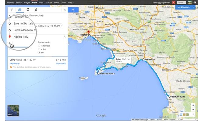 """Botón """"+"""" es la principal novedad de Google Maps 7.3"""