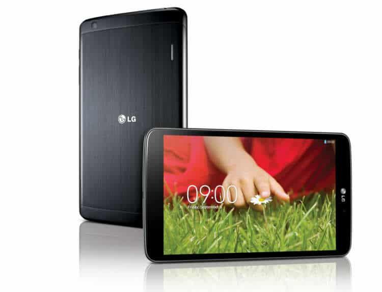 La LG G Pad 8.3 destaca por la gran resolución de su pantalla.