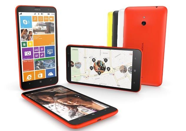 Así luce el Lumia 1320, un equipo grande a precio más bajo.