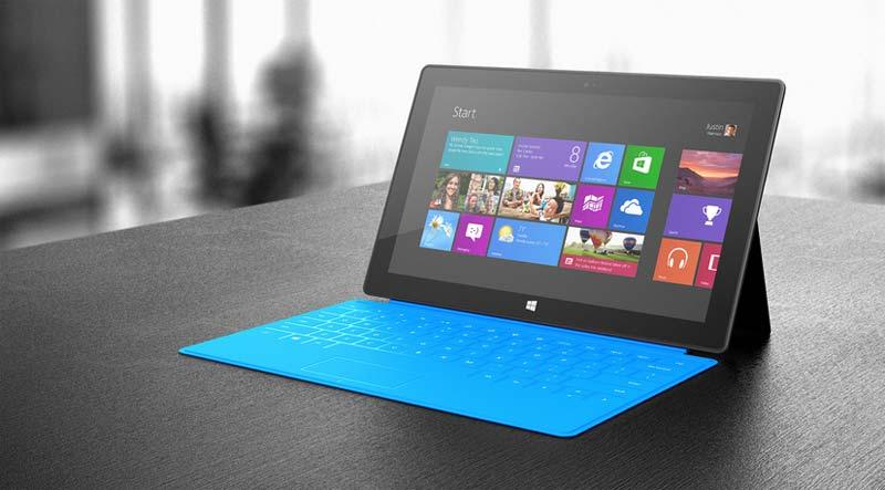 Con una de estas Surface 2 podrían contar los pilotos.