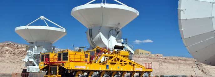 Esta antena marca el fin de la etapa de construcción de ALMA.