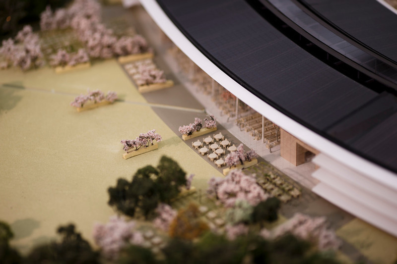 Nuevo campus de Apple mezclará innovación y naturaleza.