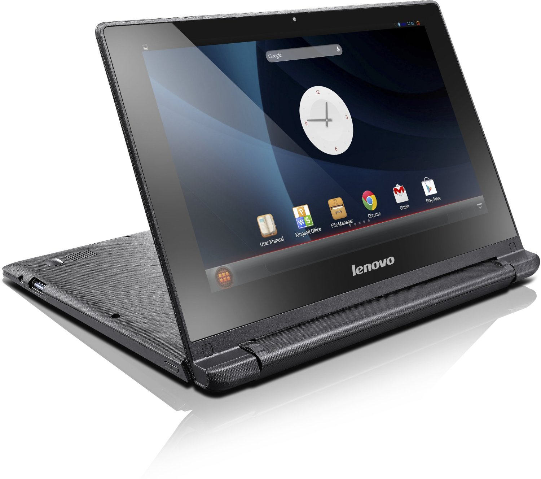 IdeaPad A10 es el primer notebook de Lenovo con Android.
