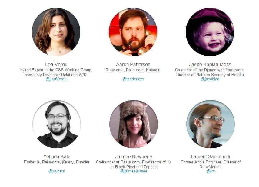 Speakers de StarTechConf.