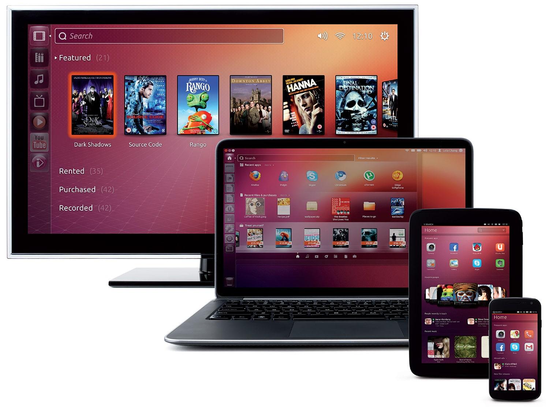 Ubuntu Touch 1.0 presenta interfaz similar a la de se versión de escritorio.